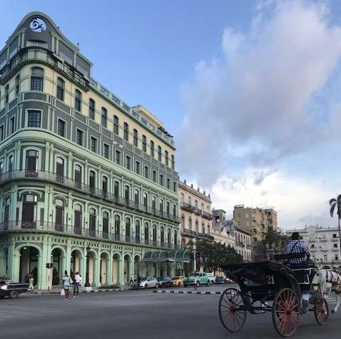 Where we stayed in Havana