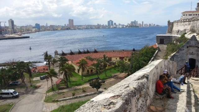 A view of Havana from across the harbor
