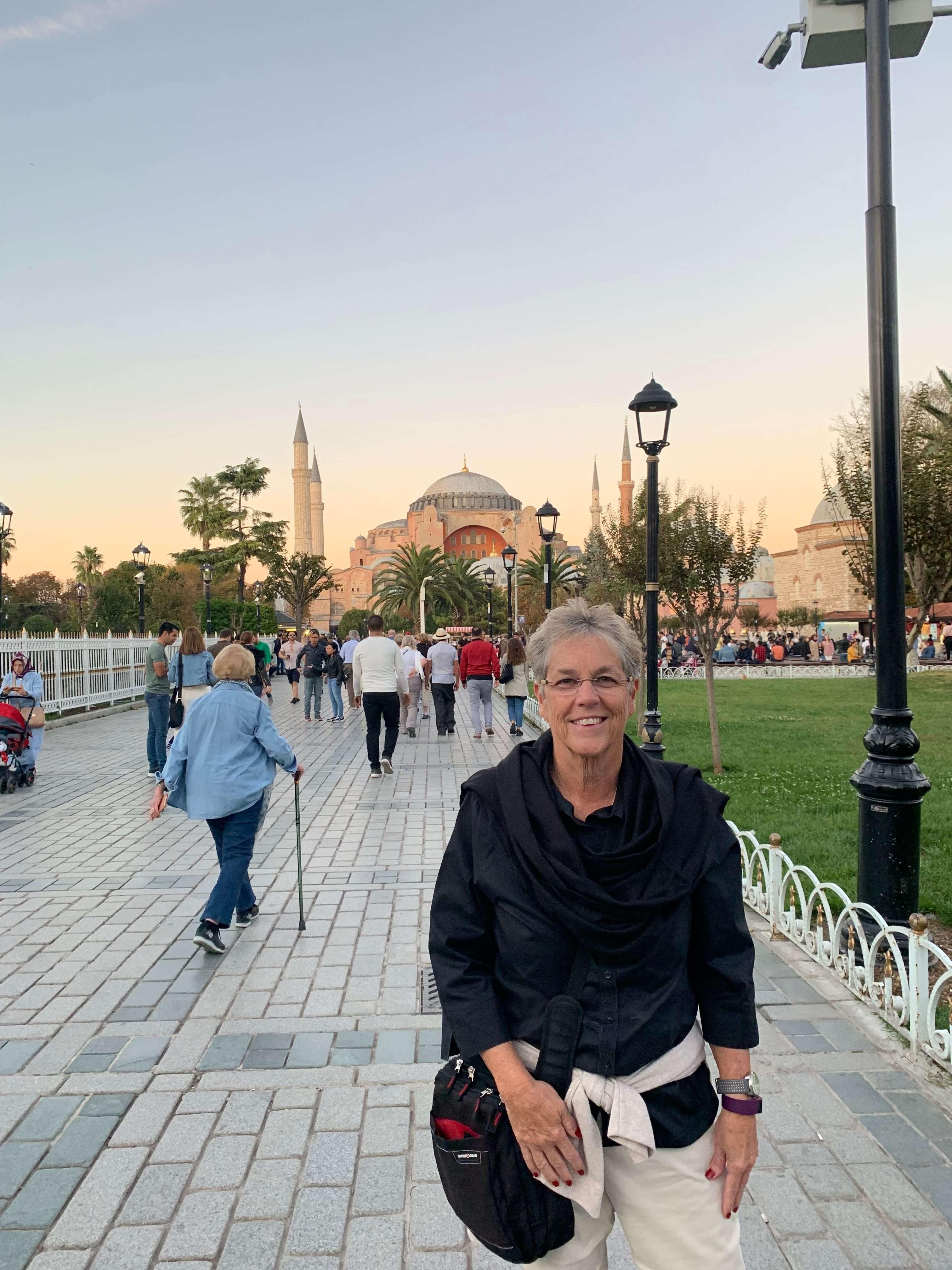 The Blue Mosque - Sue